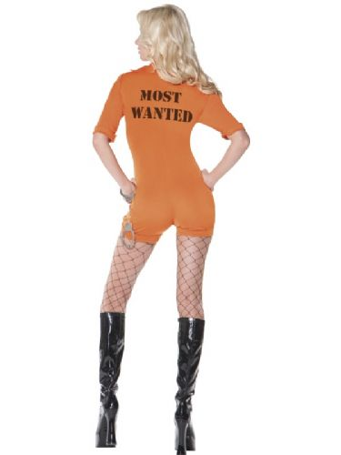 Most Wanted - Sexy Fancy Dress (Smiffys 32931)